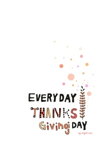 thanksgiving by nyoin via Flickr