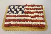 US flag cake by erictoledo via Flickr