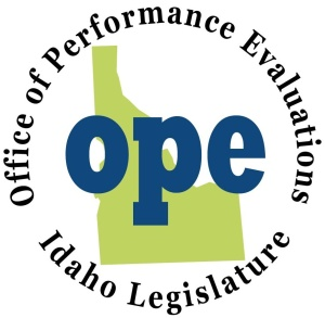 Idaho Legislature Office of Performance Evaluations (OPE) logo