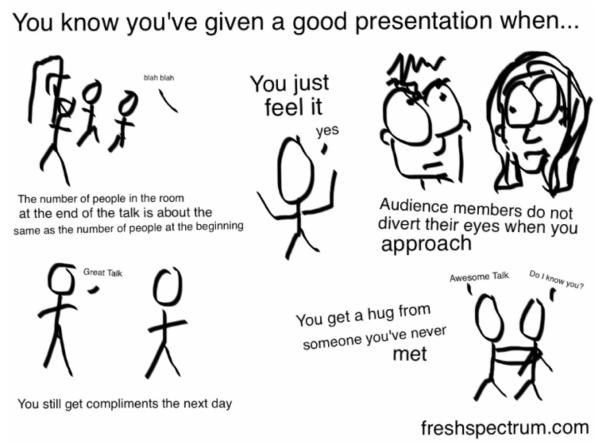 good presentation by C Lysy